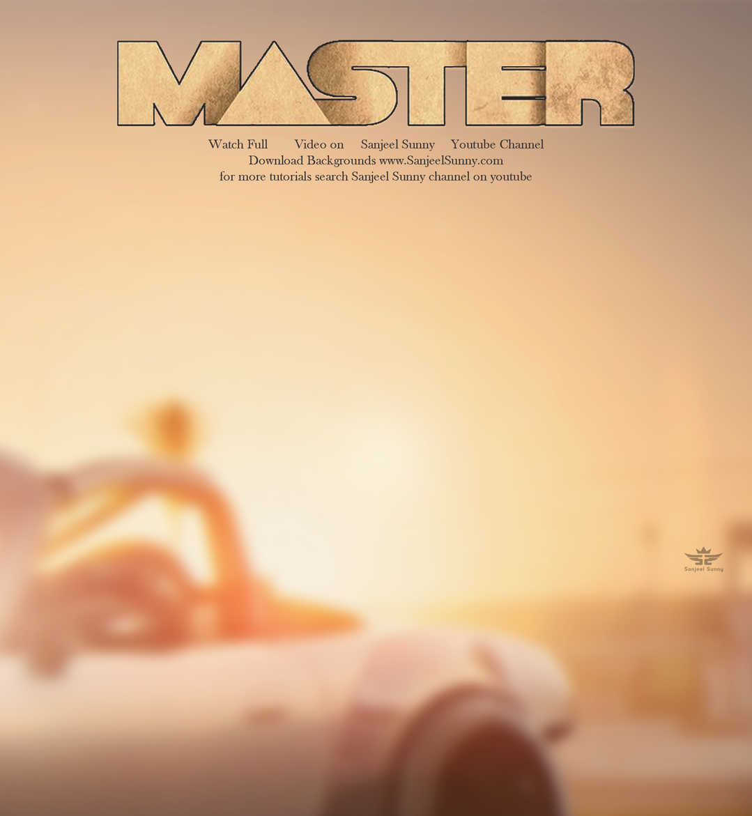 Master Movie Poster HD Background Free Download