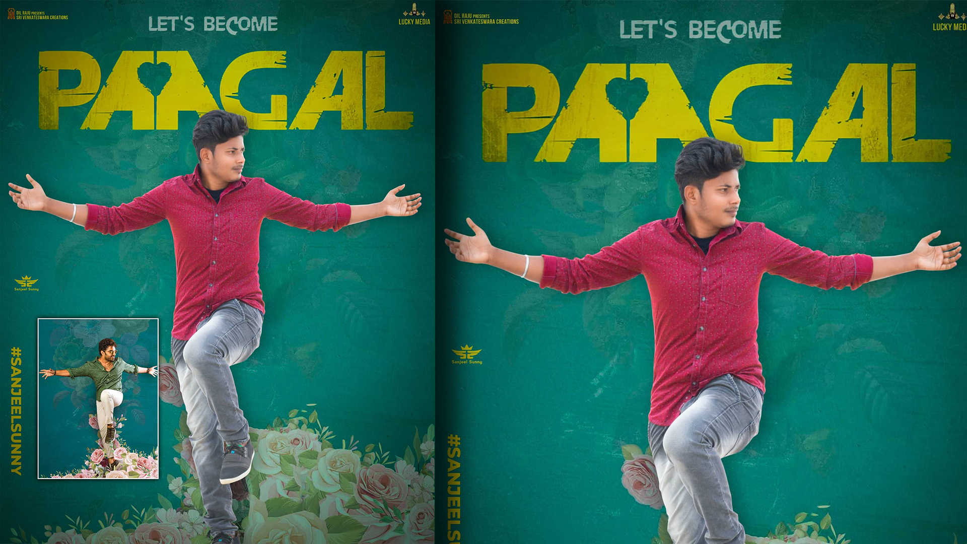 Paagal Movie Poster Editing HD Background Download | Free Telugu movie  poster background 2021 - Sanjeel Sunny